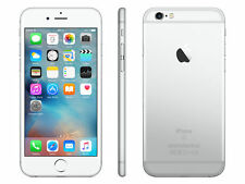 "Apple Iphone 5S/6-16GB Silver ""Factory Unlocked"" 1 Year Warranty 4G Smartphone Y"