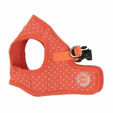 Dog Puppy Harness Soft Vest- Puppia - Dotty ll - Orange - Choose Size