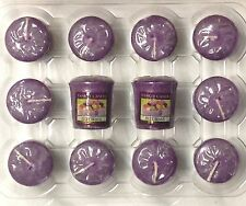 (A-K) 12 Yankee Candle VOTIVE SAMPLER CANDLES Lot of 12 Votives 24 SCENT CHOICES