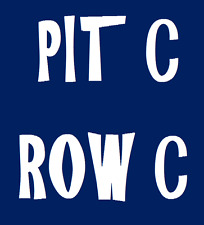 2 VINCE GILL TICKETS ROSE CENTER HUBER HEIGHTS CENTER PIT ROW C !!!!3RD ROW!!!!!