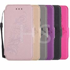 PU Leather Case Cover For Samsung Galaxy iphone 5 6S 7 Plus Huawei P8 P9 TB