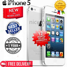 (NEW SEALED BOX) Apple iPhone 4s 5 - 4G Smartphone - 16 32 64 GB Unlocked! FF88