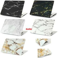 Marble Frosted Matte Rubberized Hard Shell Full Protect Case Cover for Macbook