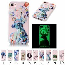 Fluorescence TPU Luminous Slim Soft Silicon Cover Case For Various Models Phone