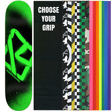 Krooked Skateboard Deck Spray Green 7.75 With Griptape