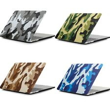Camouflage Frosted Matte Rubberized Hard Shell Full Protect Case For Macbook