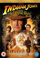 Indiana Jones And The Kingdom Of The Crystal Skull (DVD, 2008, 2-Disc Set) Uk