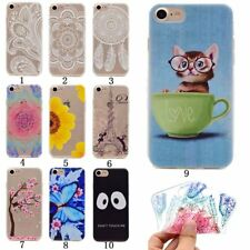 Soft Silicone Slim Clear TPU Rubber Gel Back Case Cover For Apple iphone Samsung