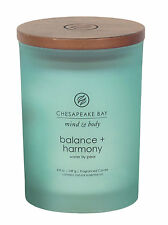 Chesapeake Bay Candle Mind & Body Balance and Harmony Waterlily Pear Jar Candle