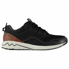 Merrell Mens Stowe Runners Lace Up Shoes Leather Antimicrobial Outdoor