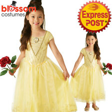 CK927 Belle Princess Disney Ballgown Deluxe Beauty & The Beast Dress Up Costume