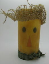 Star Hollow Candle Company Scarecrow Pillar Candle