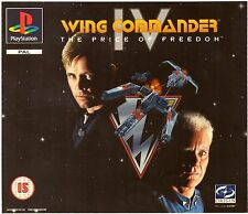 Wing Commander IV (PS1) BIG Box With Manual
