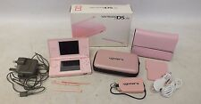 NINTENDO DS Lite Handheld Games Console in Pink with Case Bundle BOXED - C56