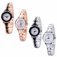 Fashion Womens Watch Stainless Steel Luxury Bracelet Analog Quartz Wrist Watch U