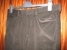 "M&S Autograph by Timothy Everest Mens Brown Cord Trousers Waist 34"" Len 29"""