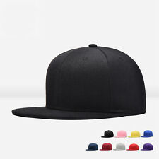 Unisex Men Women Blank Plain Snapback Hats Hip-Hop adjustable bboy Baseball Caps