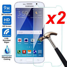 2Pcs 9H Tempered-Glass Film Screen Protector Guard Cover For Samsung Cell Phones