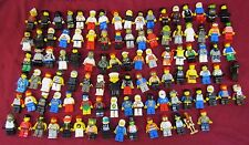 Huge Lot Of 100 Lego Minifigures Minfig Star Wars Chima City Town Police More 1