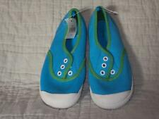 NWT  Gap Slip On Sneakers Tennis Shoes Green Blue Size 11