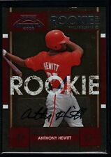 ANTHONY HEWITT $20+ PHILLIES ROOKIE TICKET AUTO RC SP 2008 PLAYOFF CONTENDERS