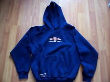 Navy hooded sweatshirt from Umbro, Size LB – height 152cm