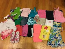 NWTS/EUC Girls Lot of 25 Spring/Summer clothes Gymboree/Gap Size 6 & 7