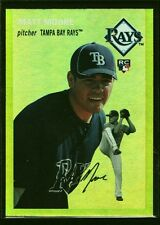 MATT MOORE MINT RAYS ROOKIE GOLD REFRACTOR RC 2012 TOPPS ARCHIVES TAMPA BAY