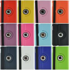 360 Rotating Smart Stand PU Leather Case Back Cover For Apple iPad Mini 1 2 3