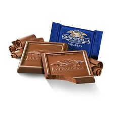 GHIRARDELLI MILK CHOCOLATE SQUARES Lindt Lindor Christmas gift IMPORTED & RARE!