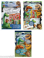 GOOD DINOSAUR Childrens Sticker Colouring Activity Sets Party Loot Bag Favour