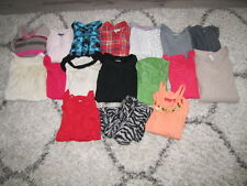 Womens 17pc Clothing Lot Size Small Medium Fox Racing Hollister A&F AE Express