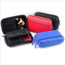 HDD Bag Hard Case for Portable Hard Disk Drive Case Twin Zipper Cover