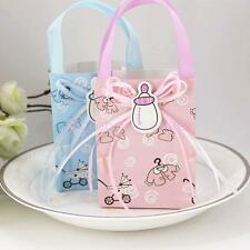 12 Cute Candy Gift Bags Mini Tote for Girl Boy Baby Shower Birthday Favor