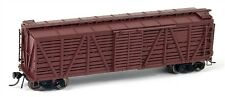 Broadway Limited 4584 HO Unlettered Stock Car with Sheep Sounds, Oxide Red