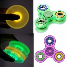 Hand Spinner Fidget Ball Bearing Desk Toy EDC Focus Kids/Adult Glow In Dark