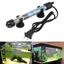 New Aquarium Adjustable Heater Fish Tank Water Submersible Thermostat Tropical E