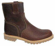 Timberland Boot Company Mens Slip On Pull Up Brown Leather Boots A132H OPP D1