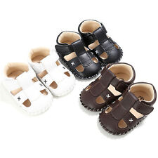 Boys Baby Infant Kids Girl Soft Sole Crib Sandals Toddler Newborn Sneakers Shoes