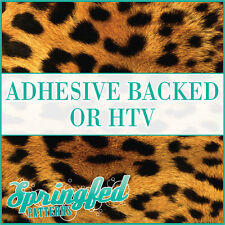 LEOPARD Spots Print Pattern #2 Adhesive Craft Vinyl or HTV Crafts or Shirts!