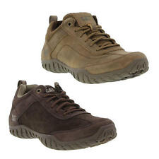 Caterpillar Arise Mens Brown Leather Casual Trainers Shoes Size UK 7-12
