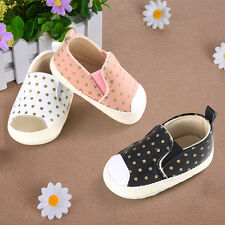 Cute Baby Soft Soled PU Leather Shoes Infant Boy Girl Toddler Moccasin 0-18Month