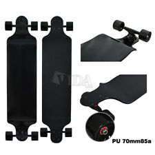 """42"""" Concave Downhill Maple Double Drop Through Complete Skateboard Longboard"""