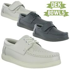 Leather Lawn Bowls Bowling Shoes Lightweight Comfort Mens Womens Unisex Trainers