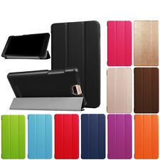 """Folding Stand Leather Folio Case Cover For Acer Iconia Talk S A1-734 Tablet 7"""""""