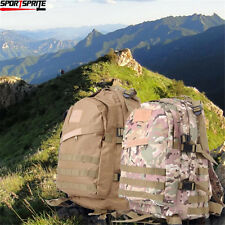 Tactical Backpack Large Army 3 Day Assault Camel Pack Molle Hiking Bag Backpack