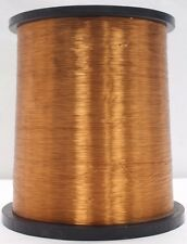 31 AWG 38 lbs. Elektrisola E180 Single Enamel Coated Magnet Copper Wire