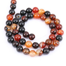 1Bunch 33-96pcs Bead Imitate Agate Glossy Round Loose Spacer Bead 4mm-12mm
