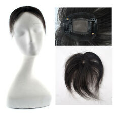 7.5*5.5cm Women Lace Hair Top Piece Toupee Human Clip in Hair extensions 6inch