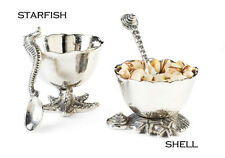 Gift SHELL STARFISH DIP CUP & SPOON Holiday By The Sea Collection 100285